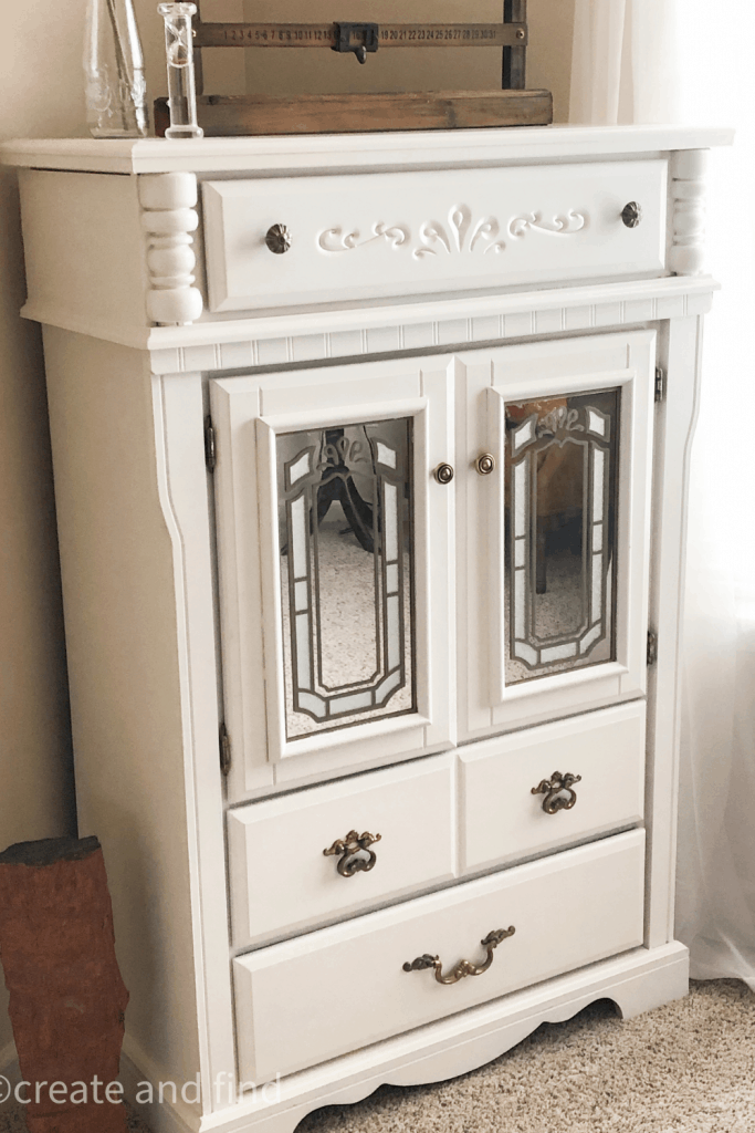 guest bedroom makeover - dresser