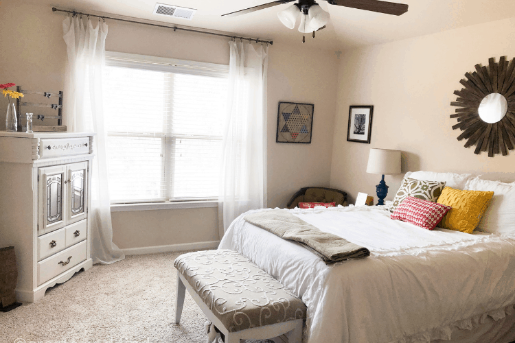 guest bedroom makeover on a budget - final reveal