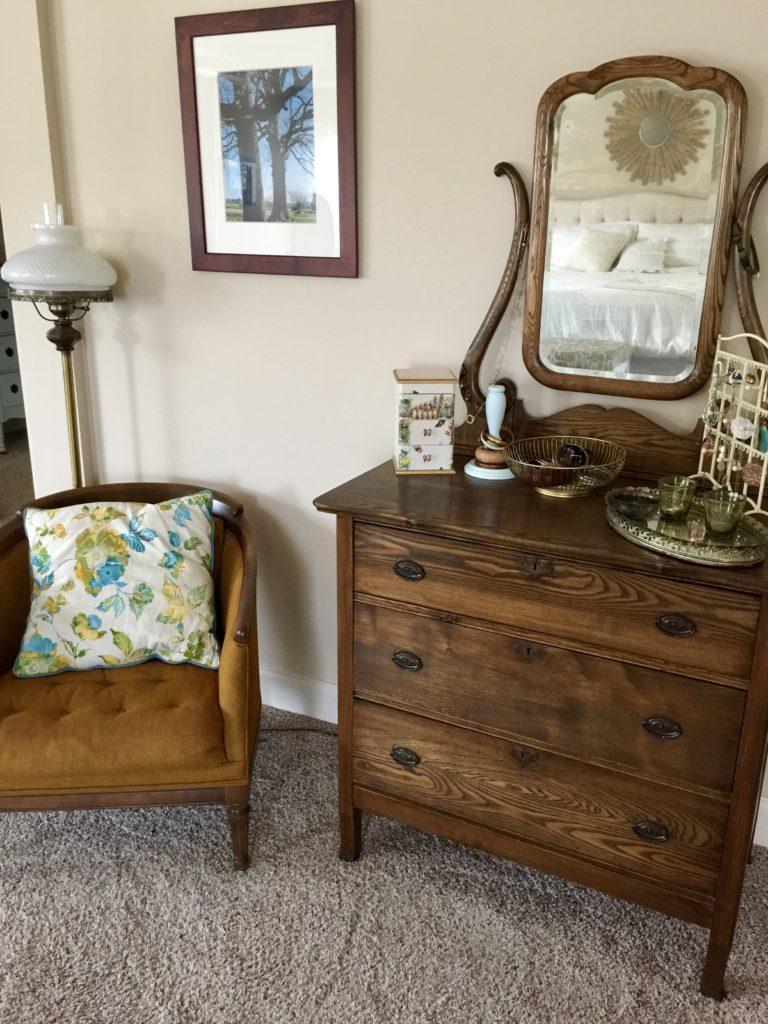 Vintage dresser on a budget