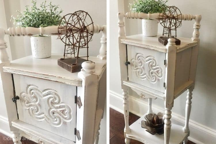 cigar table makeover