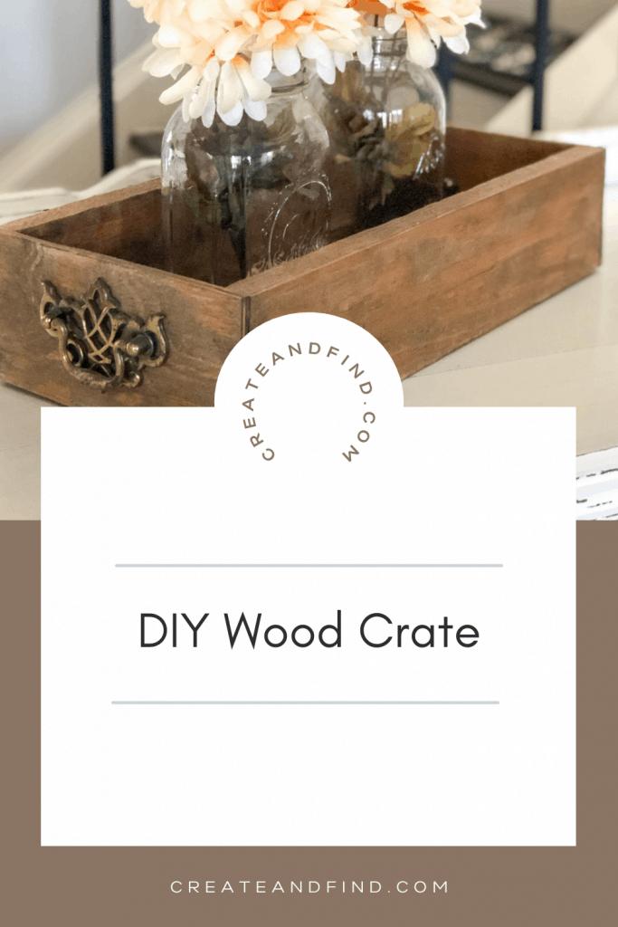 DIY Wood Crate