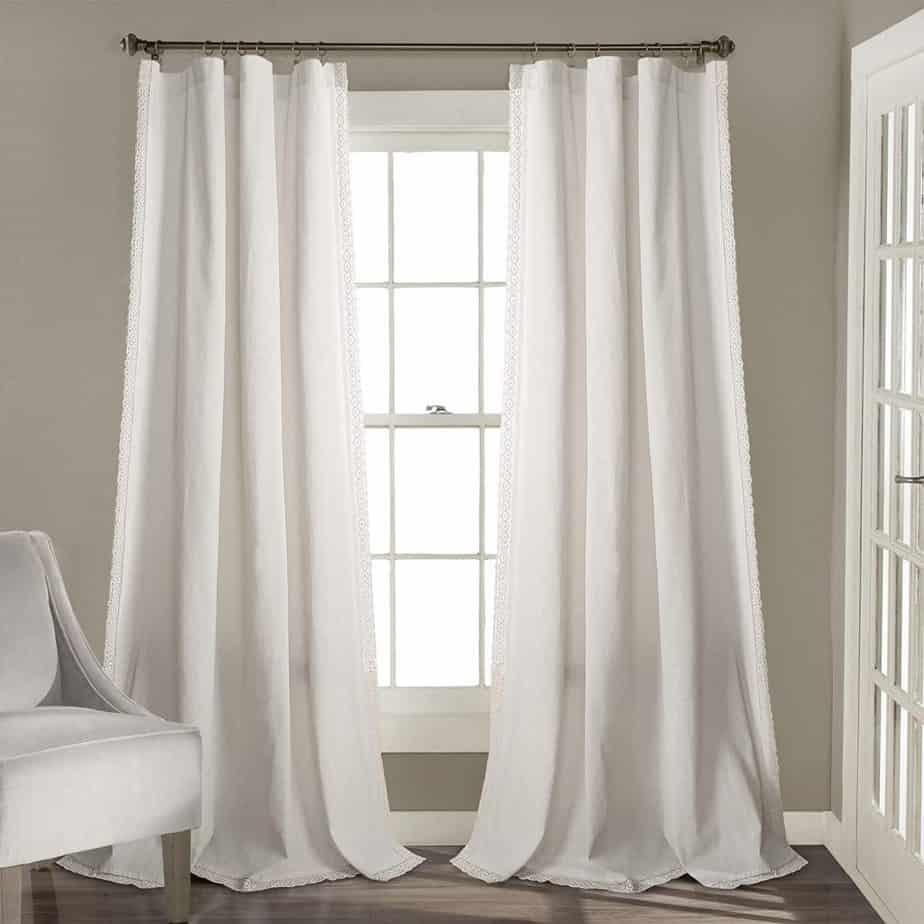modern farmhouse curtains