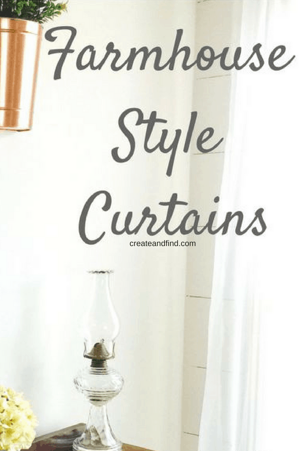 Modern Farmhouse Style Curtains on a Budget - Save money on curtains with these gorgeous choices  #curtains #farmhousestylecurtains #farmhousestyle