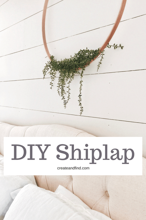 DIY Shiplap Tutorial - what to buy and how to do it!