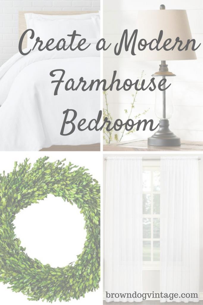 how to create a modern farmhouse bedroom