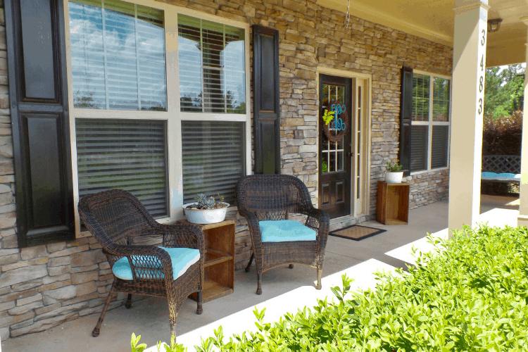 $12 Thrifty Summer Porch Update