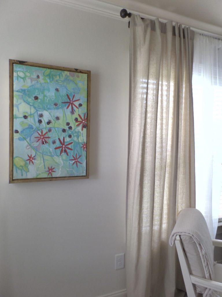 master bedroom update a budget art