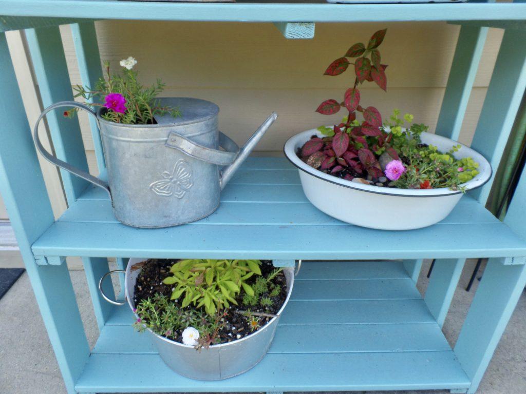 thrift challenge summer porch update