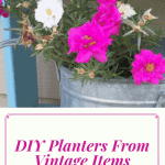 DIY Planters from Vintage Finds