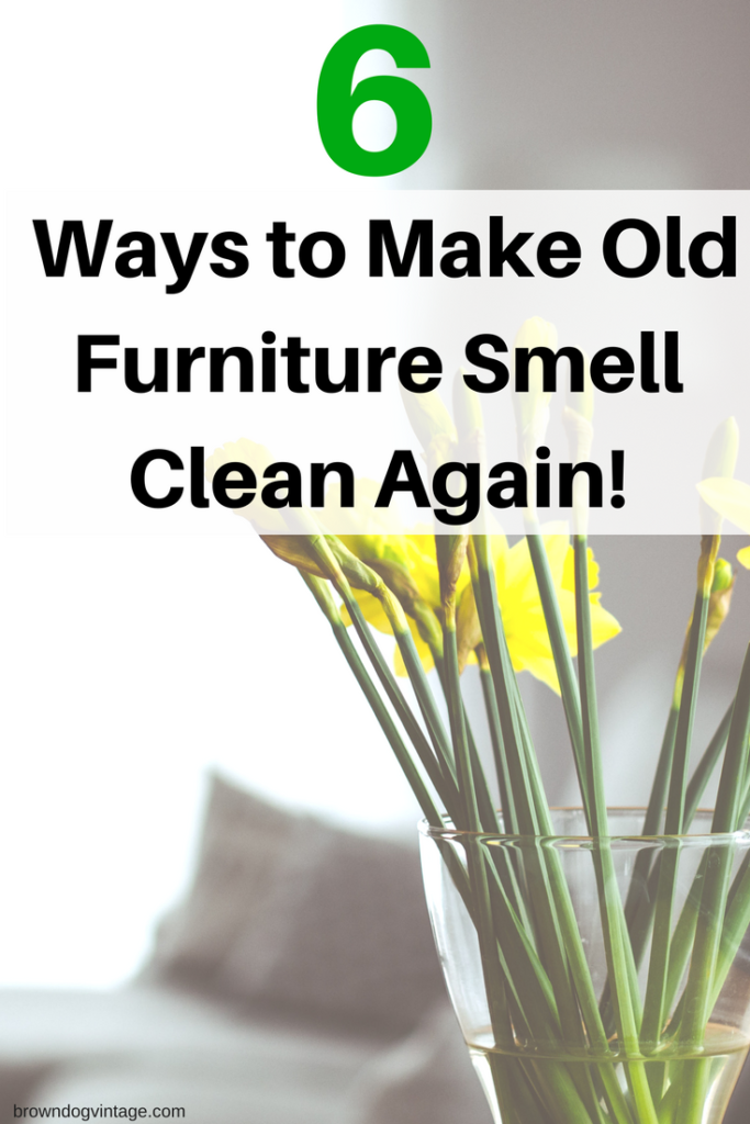 get old smells out of furniture