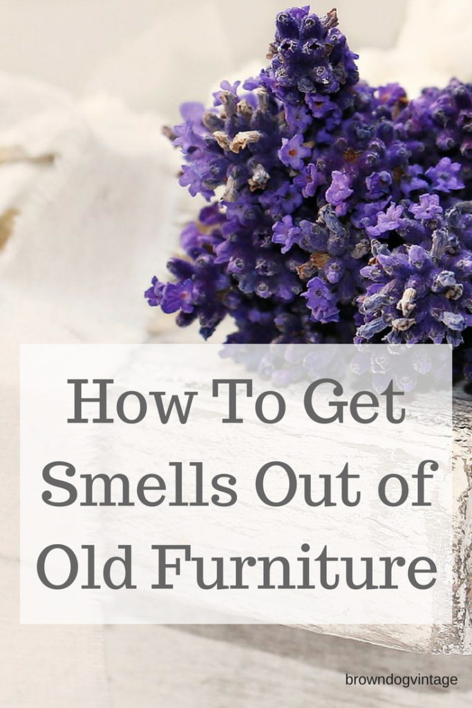 how to get smells out of furniture