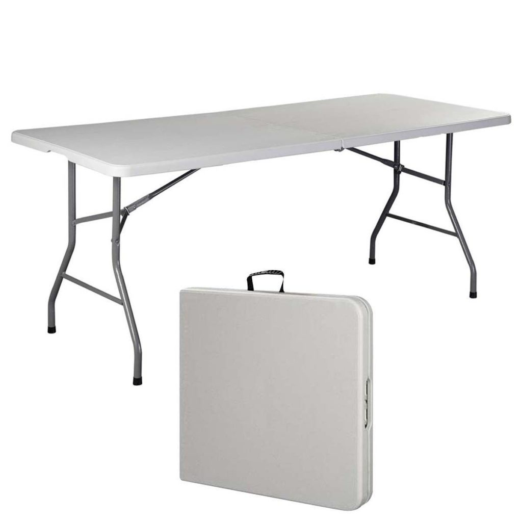 tailgate supplies top ten folding 6 foot table