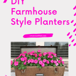 7 diy farmhouse style planters