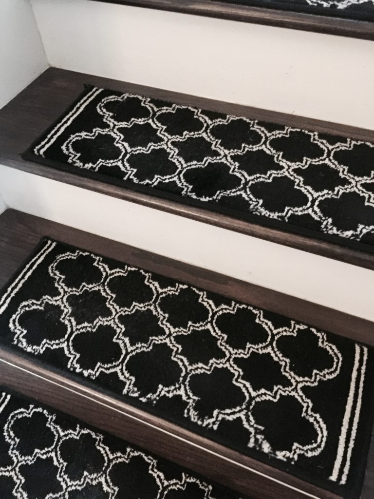 DIY Stair Tread Runner Home Depot