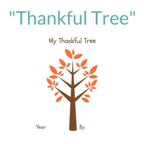 picture regarding Thankful Tree Printable identify Thanksgiving Printables