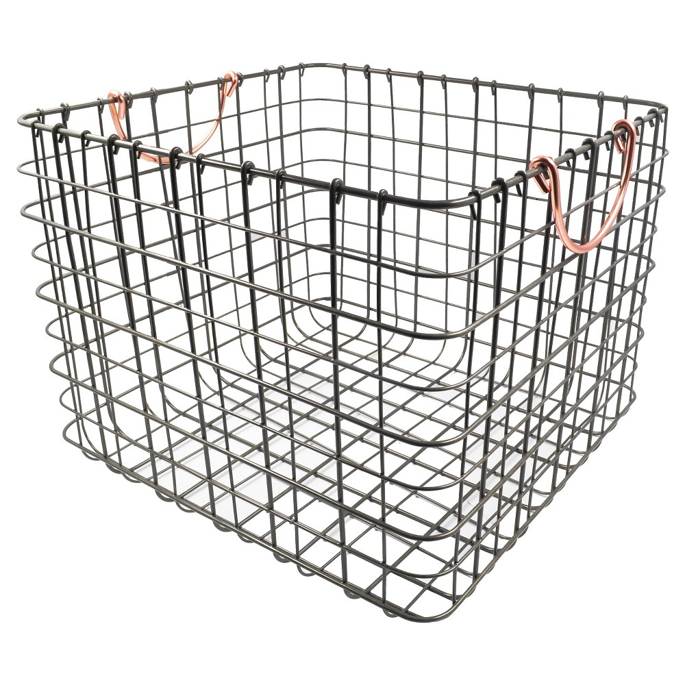 Top 10 trays and baskets milk crate style