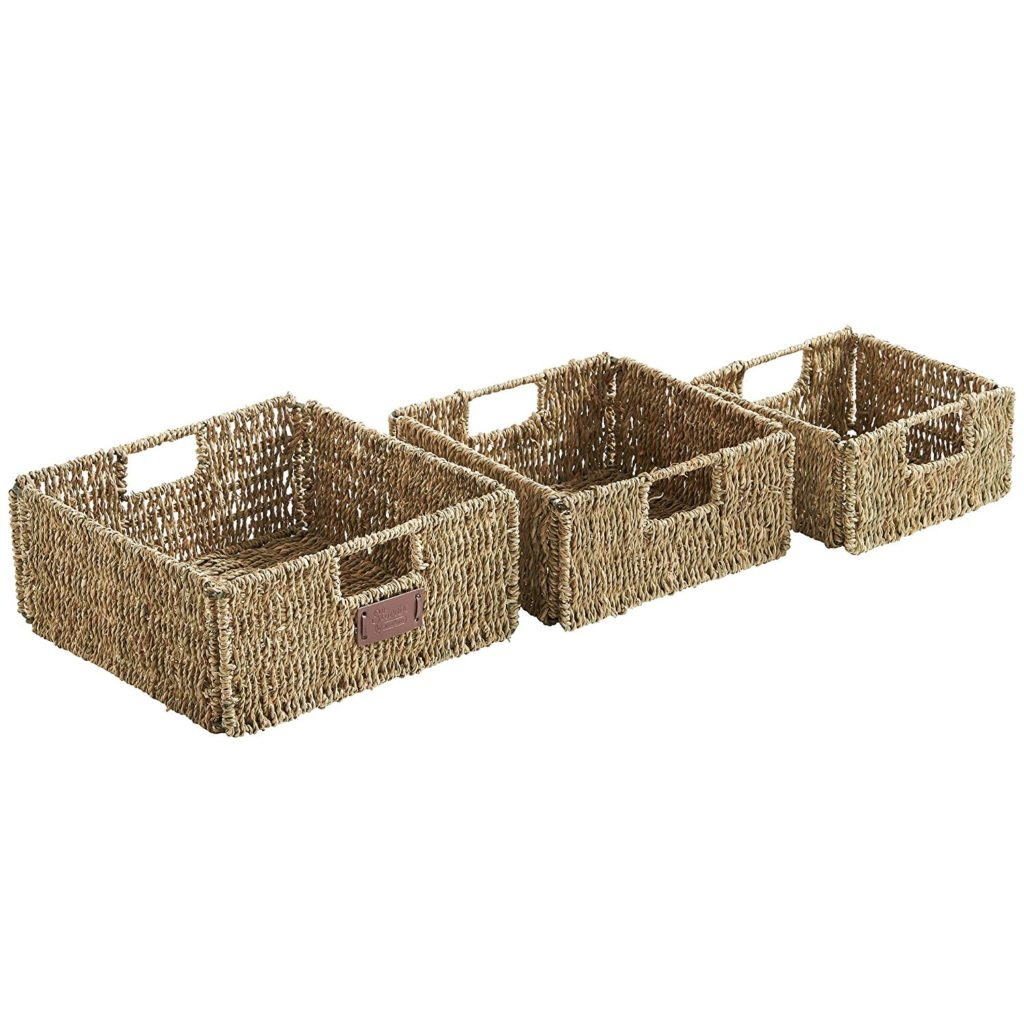 Set of 3 woven baskets top 10 baskets and trays less than $25