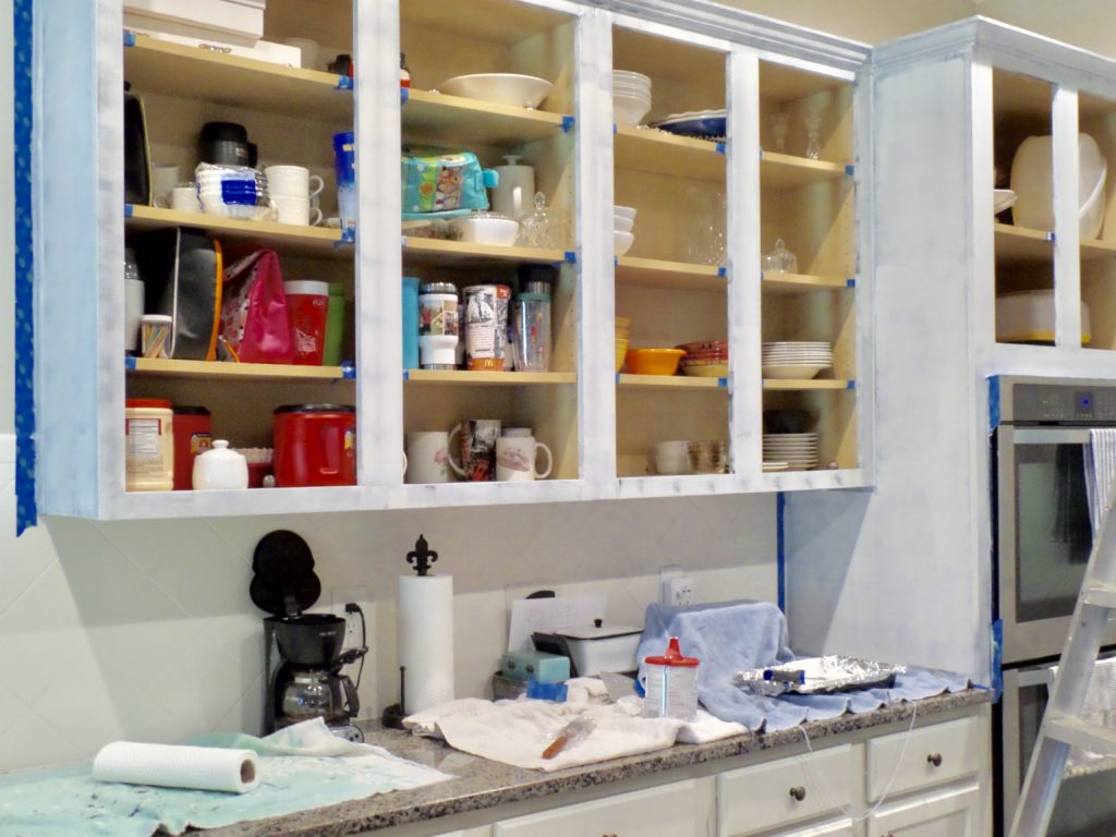 diy kitchen cabinet thrifty makeover
