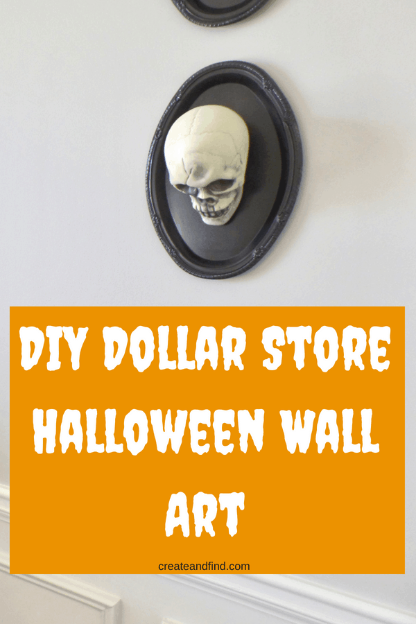 DIY Dollar Store Halloween Art
