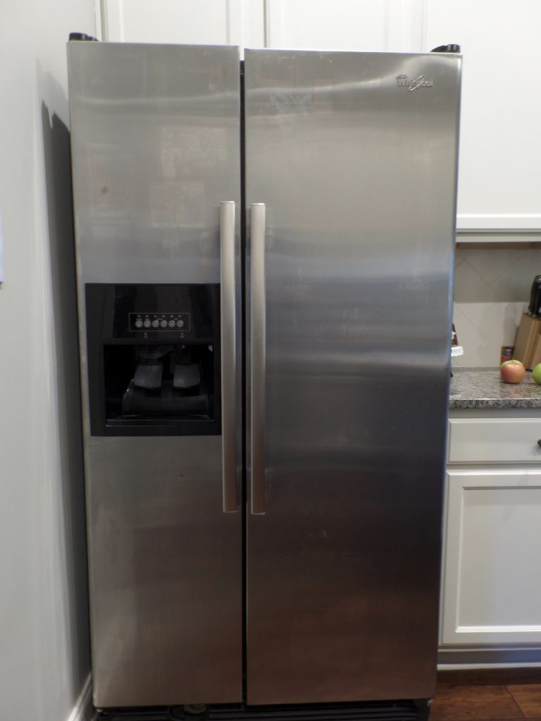 easy way to clean stainless steel appliances