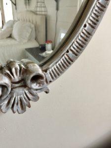 farmhouse style decor mirror makeover