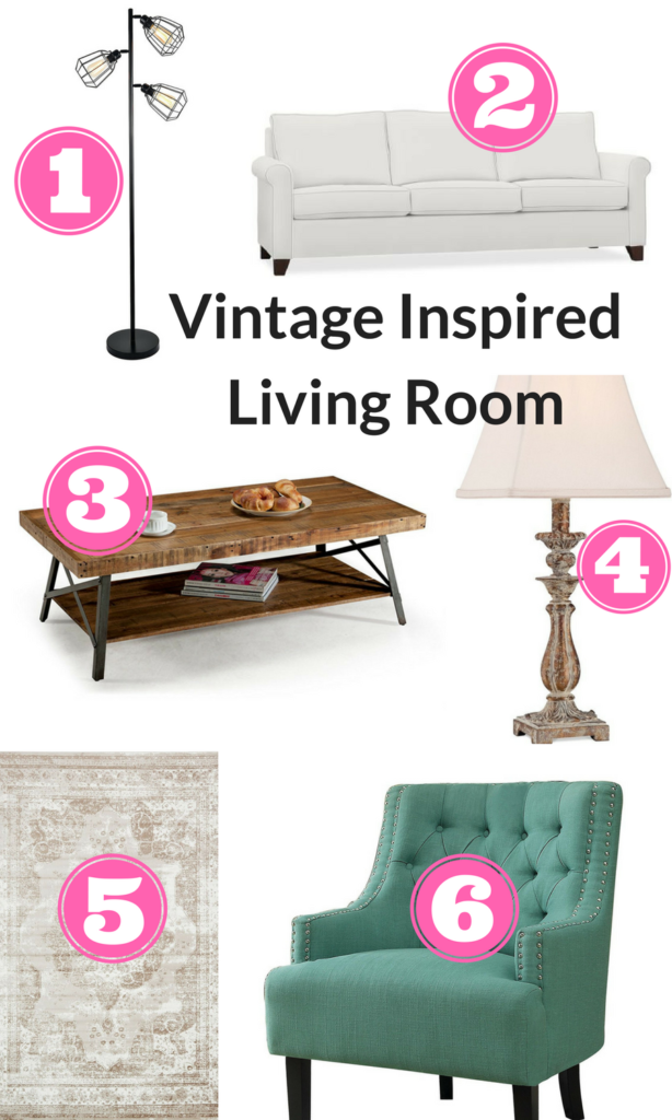 vintage inspired living room decor ideas