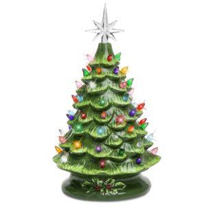 vintage inspired ceramic christmas tree