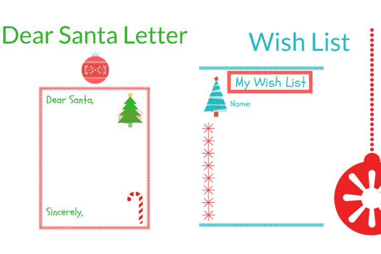 Printable Christmas Wish List Ideas.Fun Christmas Printable Ideas