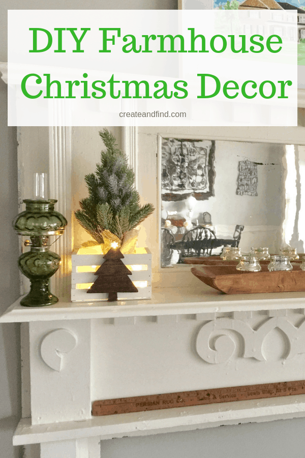 diy rustic crates for christmas a simple and easy diy project to make farmhouse style
