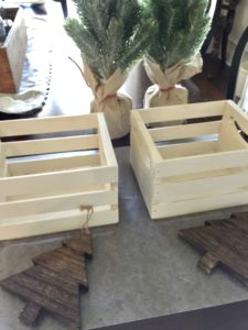 farmhouse rustic crates