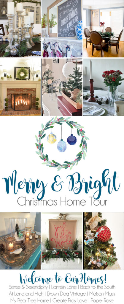 merry bright christmas home tour