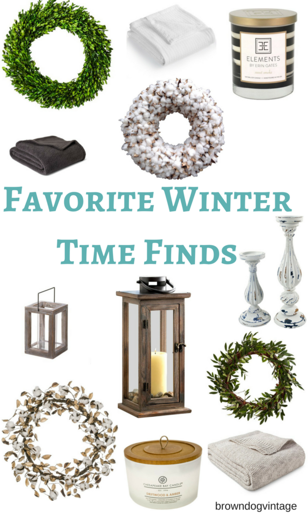 favorite winter time finds