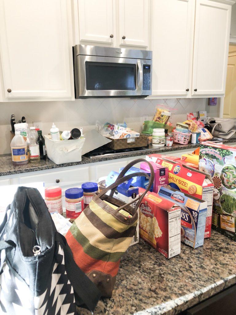 declutter pantry organization