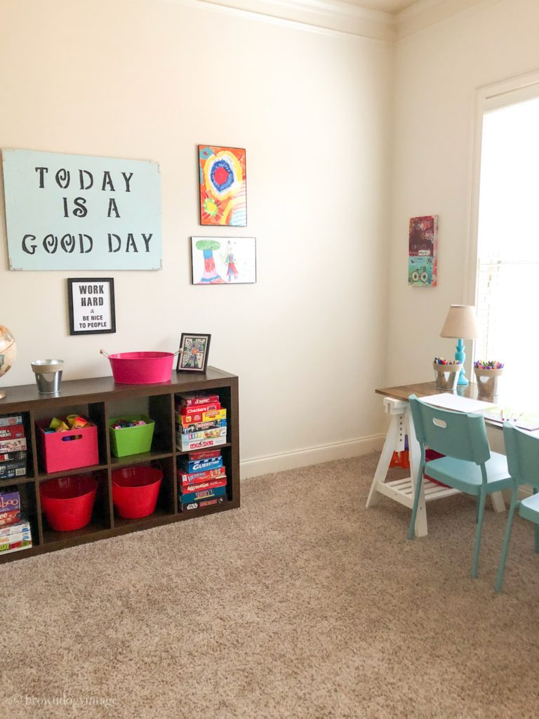 $100 Playroom makeover