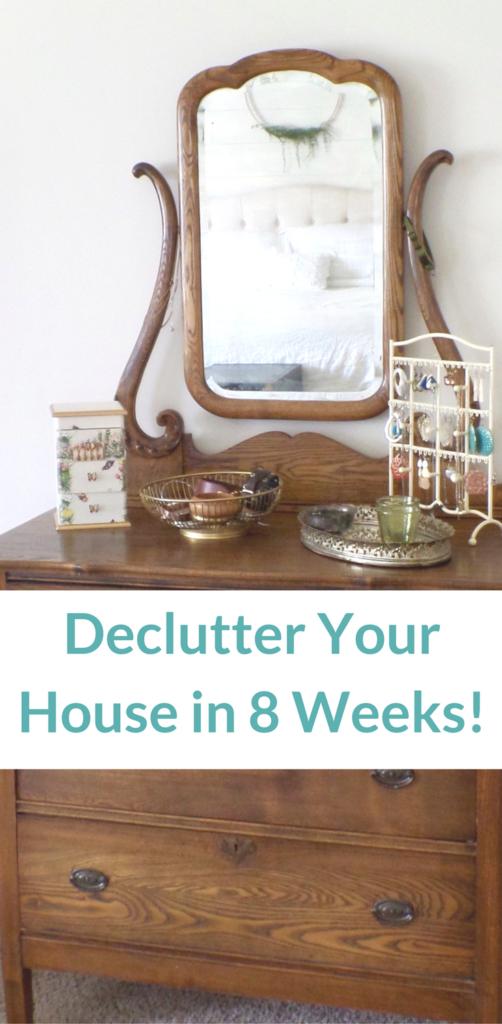 8 week declutter challenge
