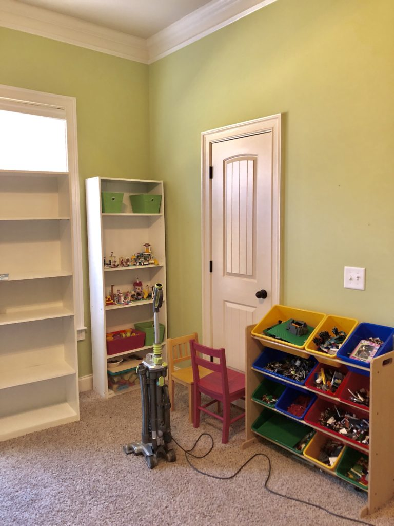 playroom declutter challenge