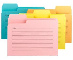 file folders