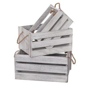 organizing crates