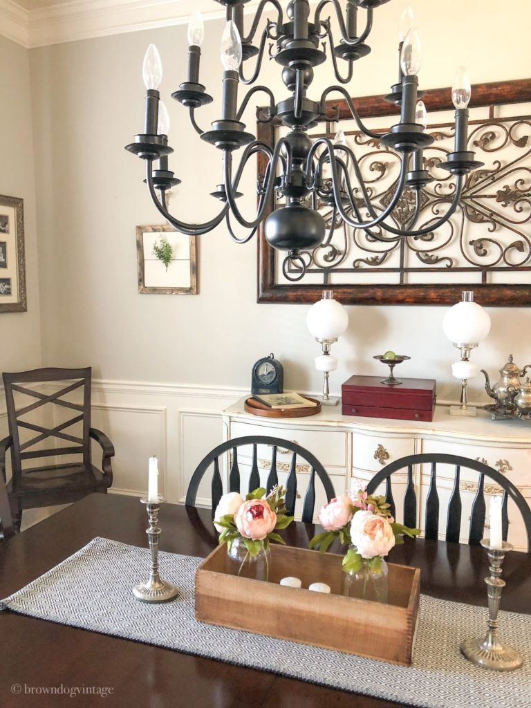 simple spring decorating ideas dining room