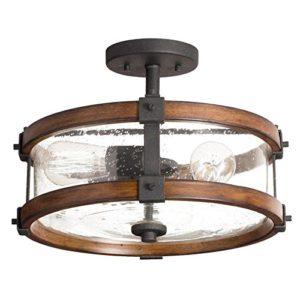 farmhouse lighting flush mount