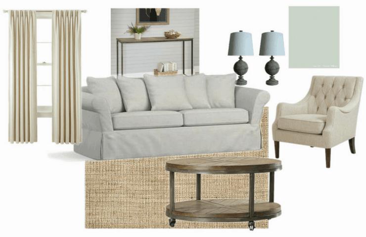 Create a Modern Farmhouse Living Room