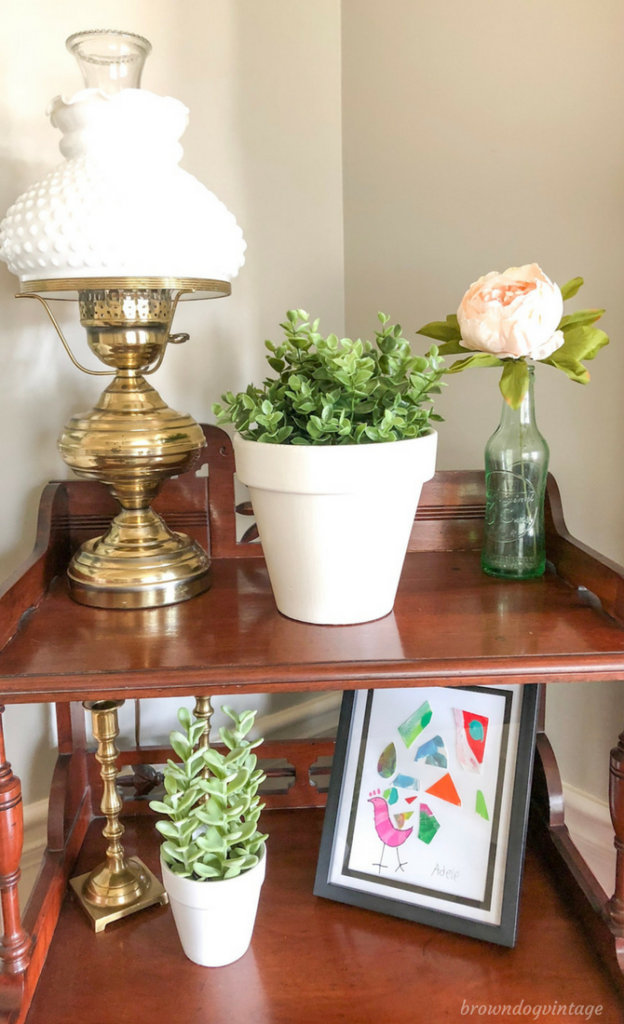 Painting terra cotta pots dollar store makeover