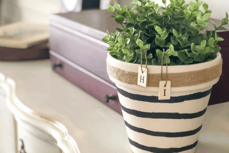 Painting Terra Cotta Pots – How To Make This Easy DIY!
