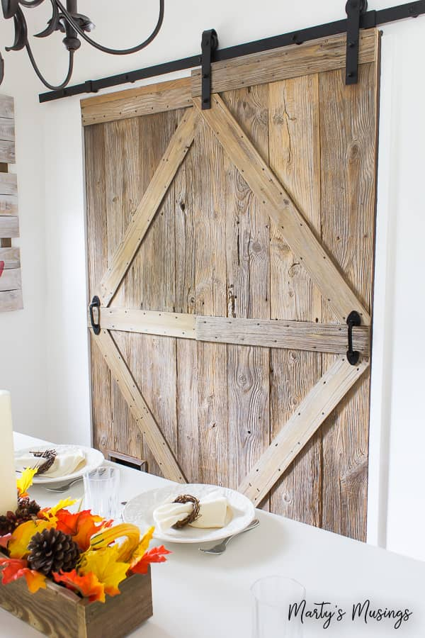 farmhouse style barn doors