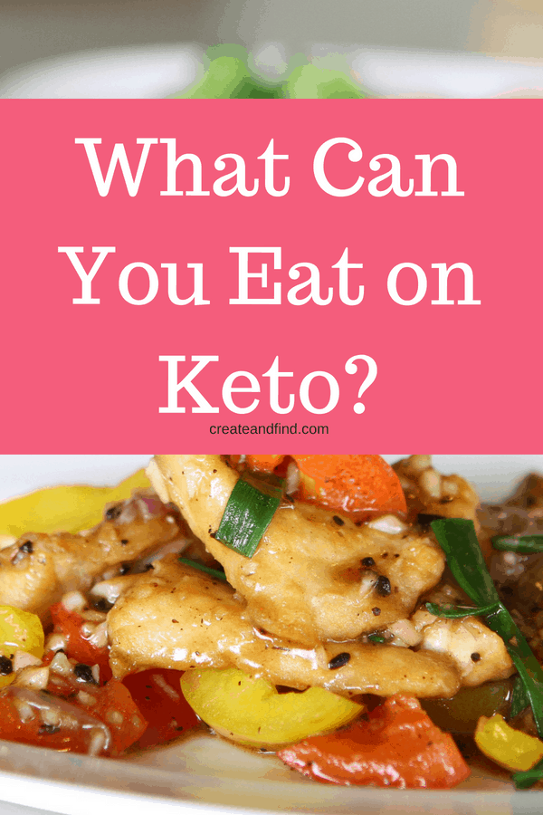 Keto Food List for Beginners - what to eat if you're starting a keto lifestyle