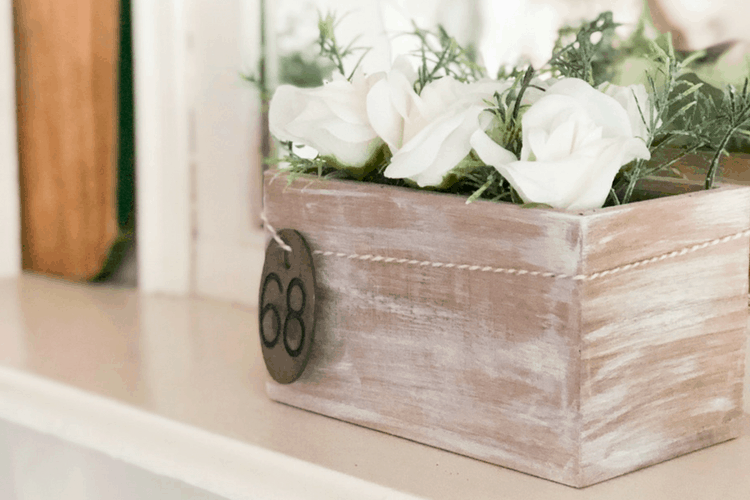 Easy and Cheap Rustic Planter