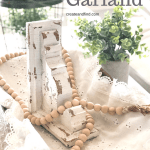DIY Wooden Bead Garland