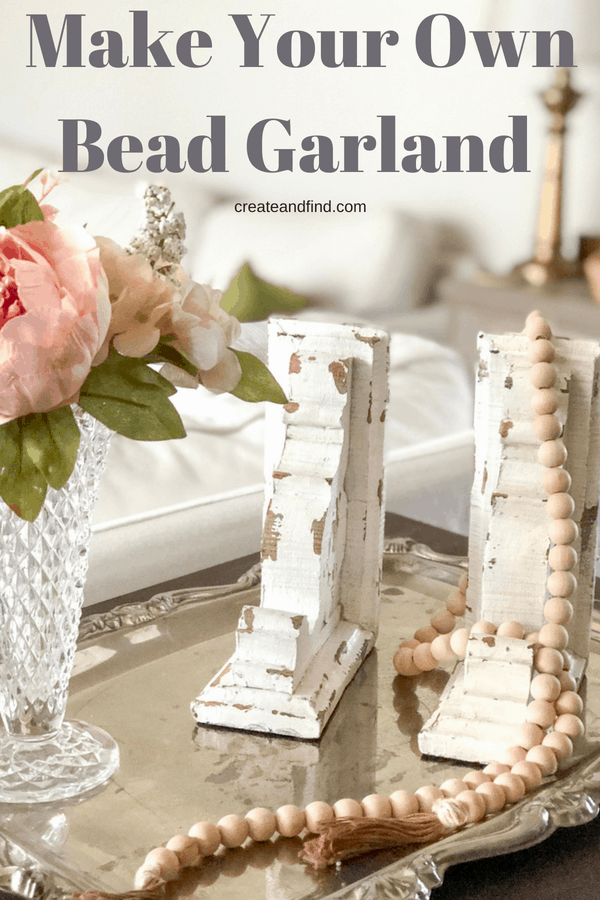 DIY Bead Garland for around $8!