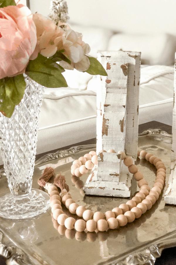 DIY wood beads