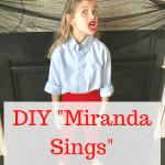 DIY Halloween Costume - Miranda Sings